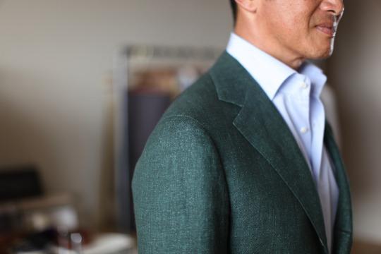 Linen-jacket
